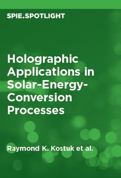 Holographic Applications in Solar-Energy-Conversion Processes