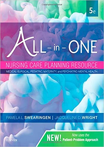 All-in-One Nursing Care Planning Resource Medical-Surgical, Pediatric, Maternity, and Psychiatric-Mental Health (5th Edition) - Epub + Converted pdf