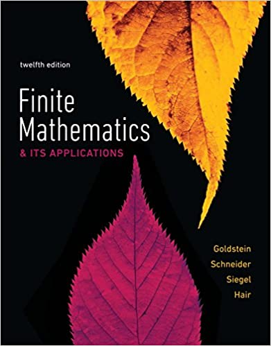 Finite Mathematics & Its Applications (12th Edition) - Original PDF