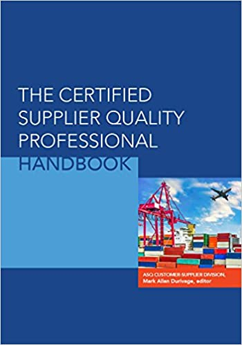 The Certified Supplier Quality Professional Handbook - Epub + Converted pdf