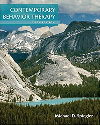 Contemporary Behavior Therapy (6th Edition) - Original PDF