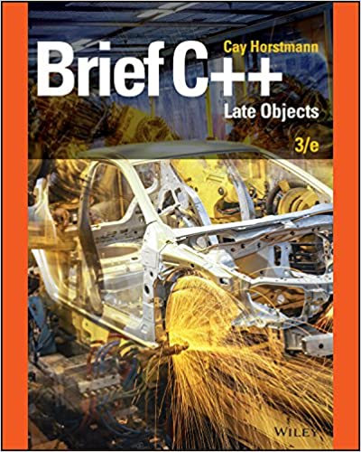 Brief C++ Late Objects (3rd Edition) - Original PDF