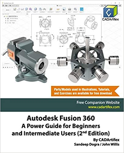Autodesk Fusion 360: A Power Guide for Beginners and Intermediate Users (2nd Edition) - Epub + Converted pdf