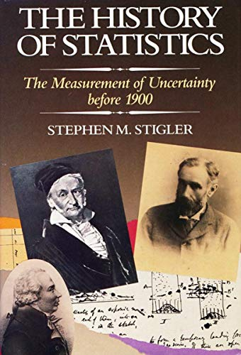 The History of Statistics: The Measurement of Uncertainty before 1900 - Epub + Converted pdf