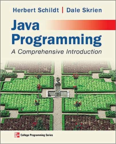 Java Programming: A Comprehensive Introduction - Original PDF