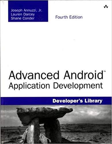 Advanced Android Application Development (Developer's Library) (4th Edition) - Original PDF