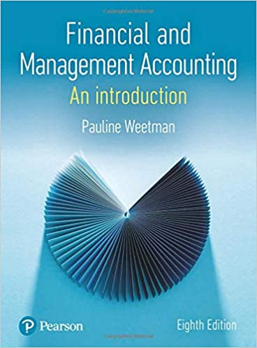 Financial and Management Accounting  (8th Edition) [2019] - Original PDF