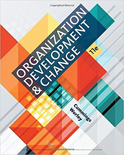 Organization Development and Change (11th Edition) - Epub + Converted pdf