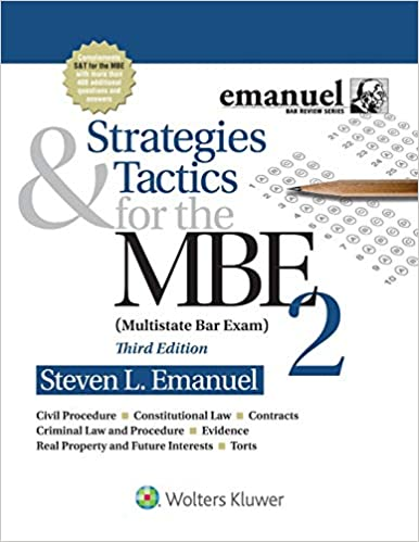 Strategies & Tactics for the MBE 2 (Bar Review) (3rd Edition) - Epub + Converted pdf