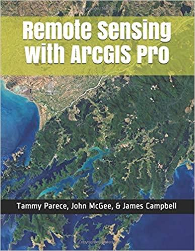 Remote Sensing with ArcGIS Pro - Epub + Converted pdf