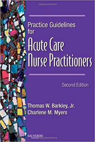 Practice Guidelines for Acute Care Nurse Practitioners (2nd Edition) - Original PDF