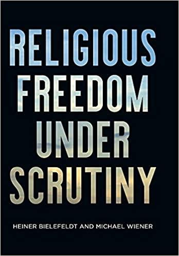 Religious Freedom Under Scrutiny (Pennsylvania Studies in Human Rights) - Original PDF