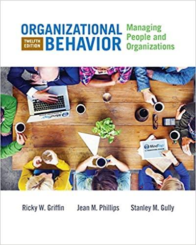 Organizational Behavior:  Managing People and Organizations (12th Edition) - Original PDF