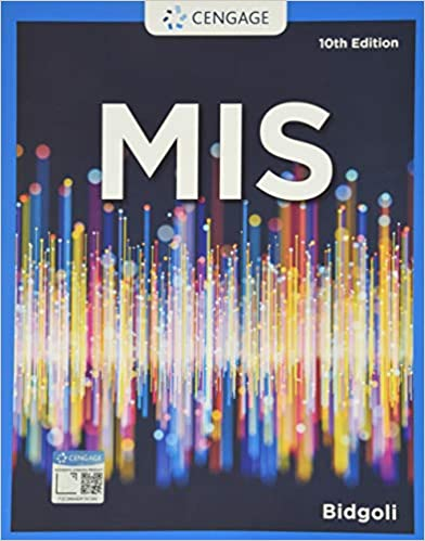 MIS (MindTap Course List) (10th Edition) - Original PDF