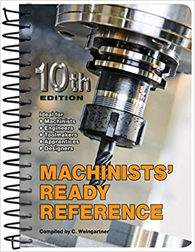 Machinists' Ready Reference (10th edition) - Epub + Converted pdf