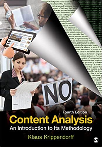 Content Analysis: An Introduction to Its Methodology (4th Edition) - Epub + Converted pdf