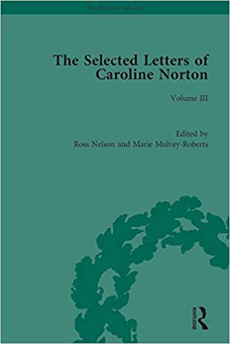 The Selected Letters of Caroline Norton Volume III (The Pickering Masters)  - Original PDF
