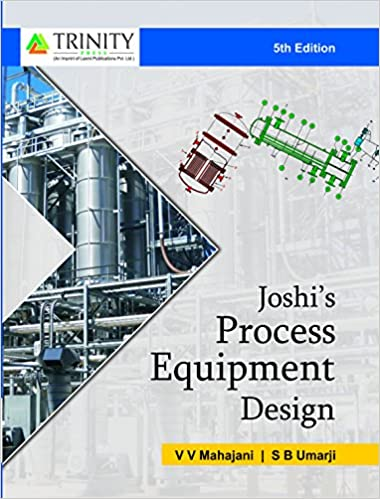 Joshi's Process Equipment Design (5th Edition)  - Original PDF