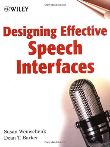 Designing Effective Speech Interfaces - Original PDF