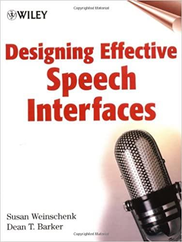 Designing Effective Speech Interfaces - Original PDF