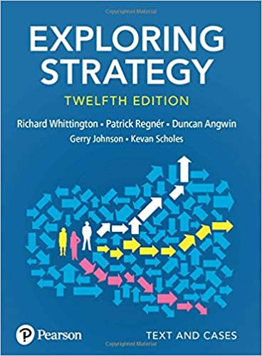 Exploring Strategy, Text and Cases (12th Edition) [2019] - Original PDF
