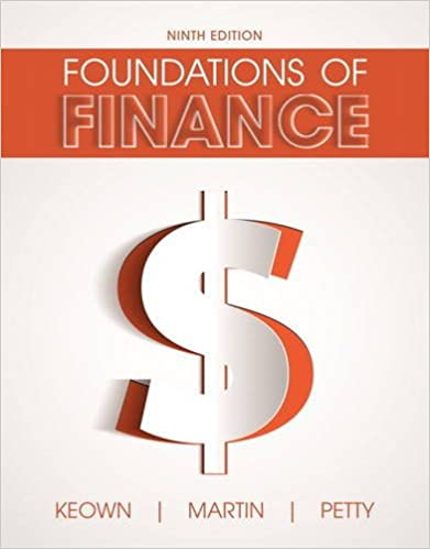 Foundations of Finance (9th Edition) (Pearson Series in Finance) (9th Edition) - Original PDF