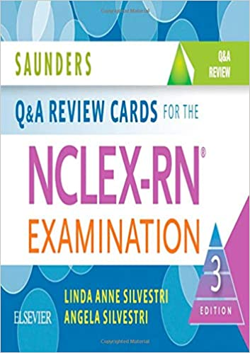Saunders Q & A Review Cards for the NCLEX-RN® Examination (3rd Edition) - Epub + Converted pdf