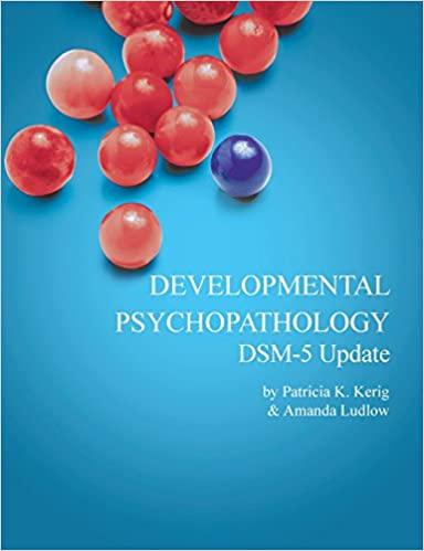 Developmental Psychopathology with DSM-5 Update (6th Edition) - Epub + Converted pdf