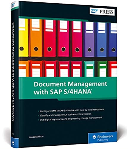 Document Management (DMS) with SAP S/4HANA (SAP PRESS)  - Original PDF