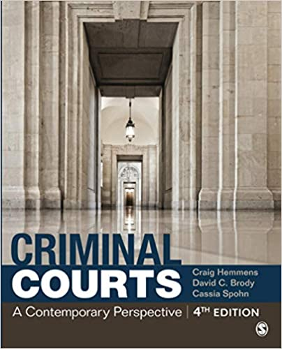 Criminal Courts: A Contemporary Perspective (4th Edition) - Epub + Converted pdf