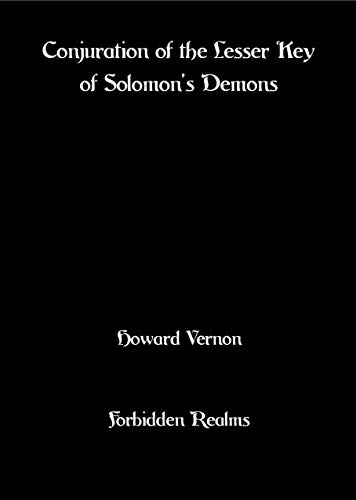 Conjuration of the Lesser Key of Solomon's Demons - Epub + Converted pdf