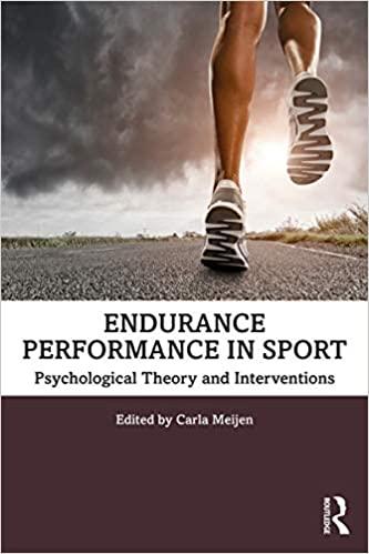 Endurance Performance in Sport  [2019] - Original PDF