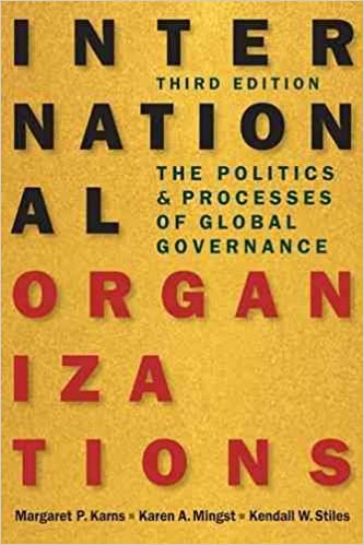 International Organizations : The Politics & Processes of Global Governance - Original PDF