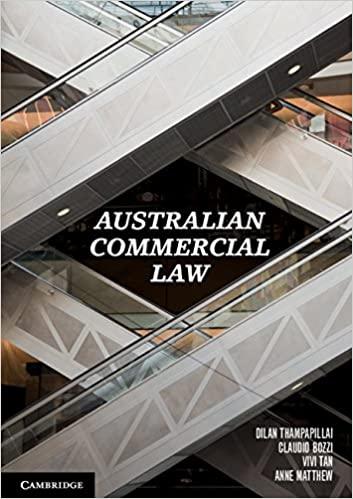 Australian Commercial Law - Original PDF