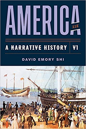 America: A Narrative History  (Vol. 1) (11th Edition) - Original PDF