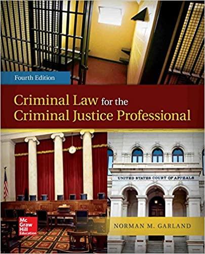 Criminal Law for the Criminal Justice Professional (4th Edition) - Original PDF