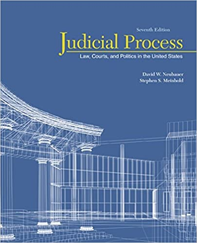 Judicial Process: Law, Courts, and Politics in the United States (7th Edition) - Original PDF