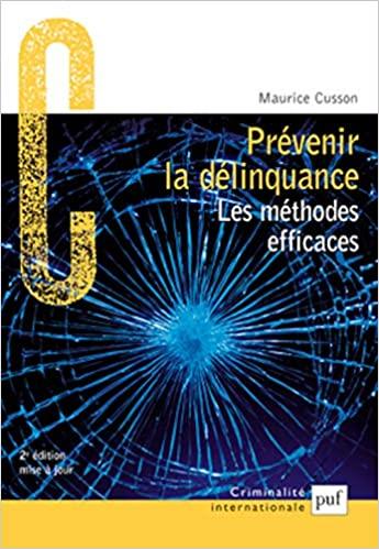 Prévenir la délinquance  - Epub + Converted pdf