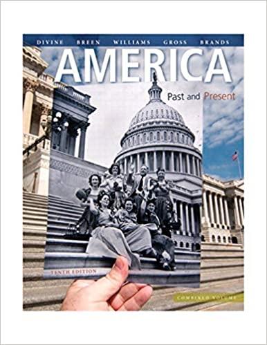America: Past and Present, Combined Volume (10th Edition) - Original PDF