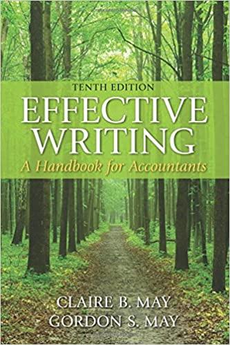 Effective Writing: A Handbook for Accountants (10th Edition) - Original PDF