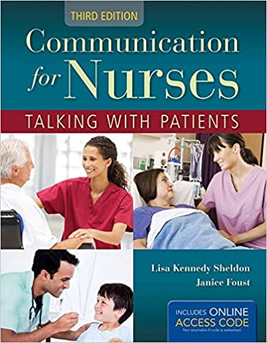 Communication for Nurses: Talking with Patients (3rd Edition) - Epub + Converted pdf