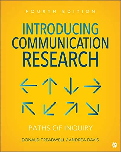 Introducing Communication Research: Paths of Inquiry (4th Edition) - Epub + Converted pdf
