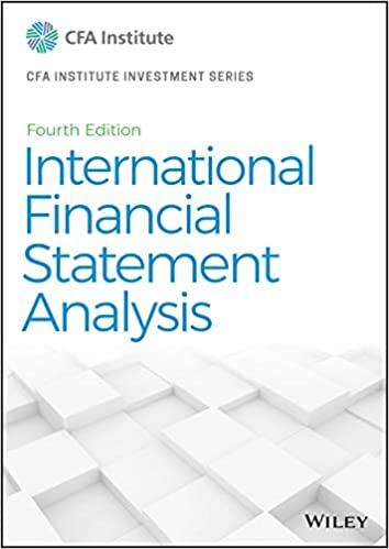 International Financial Statement Analysis (CFA Institute Investment Series)  [2020] - Original PDF