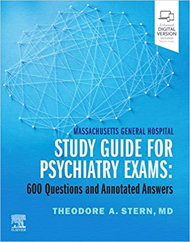 Massachusetts General Hospital Study Guide for Psychiatry Exams E-Book: 600 Questions and Annotated Answers - Epub + Converted pdf