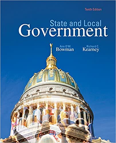 State and Local Government (10th Edition) - Original PDF
