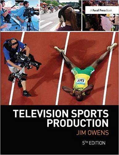 Television Sports Production (5th Edition) - Original PDF