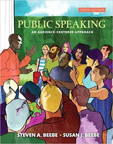 Public Speaking (10th Edition) - Original PDF