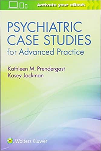 Psychiatric Case Studies for Advanced Practice - Epub + Converted pdf