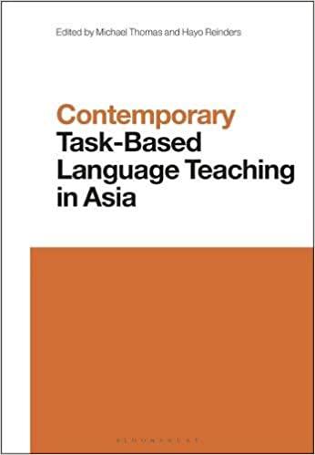 Contemporary Task-Based Language Teaching in Asia (Contemporary Studies in Linguistics) - Original PDF