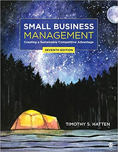 Small Business Management:  Creating a Sustainable Competitive Advantage (7th Edition) [2019] - Epub + Converted pdf